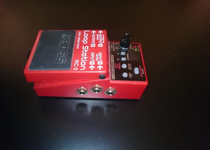 Boss Loop Station guitar pedal RC-3 - 2