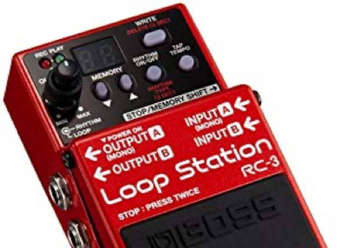BOSS loop station RC-3 - 2