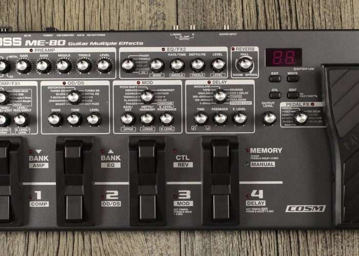 Boss ME-80 Guitar Multi-Effects - 1