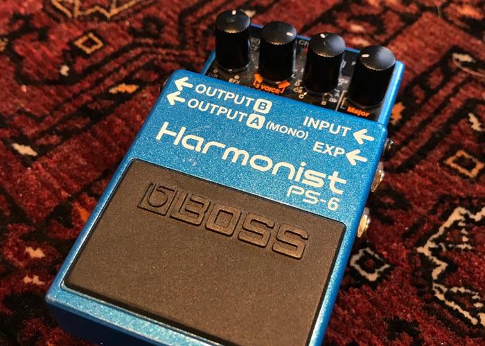 Boss PS6 Harmonist whammy like octave - 1