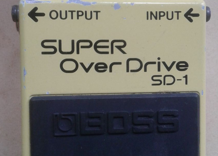 Boss SD1 Overdrive - 2
