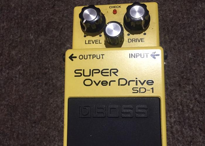 BOSS Super Overdrive SD-1 - 1