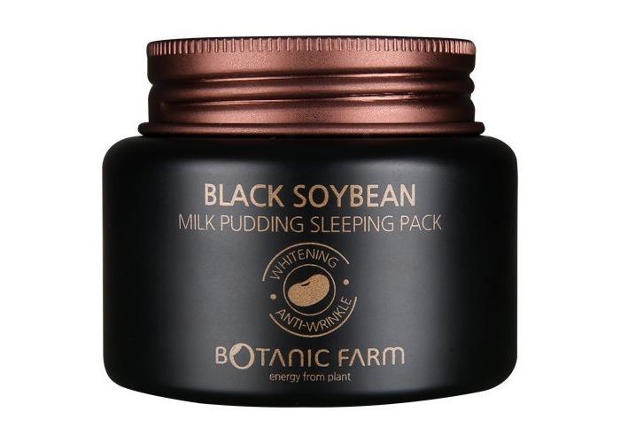 Botanic Farm Black Soybean Milk Pudding Sleeping Pack 80ml(2.7oz) by Botanic Farm - 1