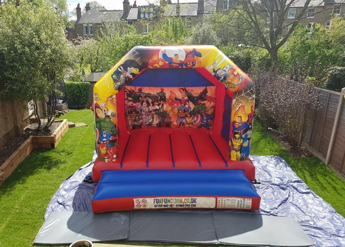 Bouncy castles - 1