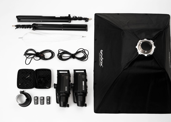 Bowens 250W Studio Light Set  - 1