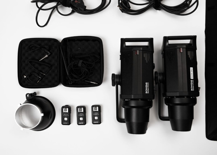 Bowens 250W Studio Light Set  - 2