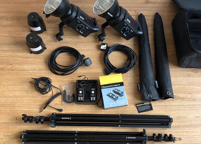 Bowens Gemini GM400 kit - 2