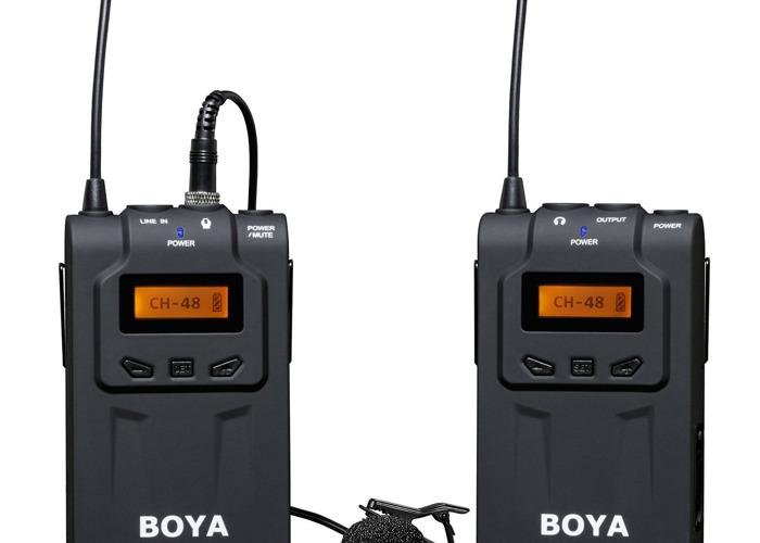 Bona BY-WM6 48-Channel UHF Professional Omni-Directional Wir - 1