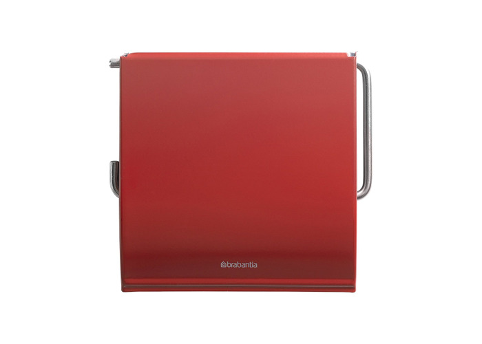Brabantia Classic Toilet Roll Holder - Passion Red - 1