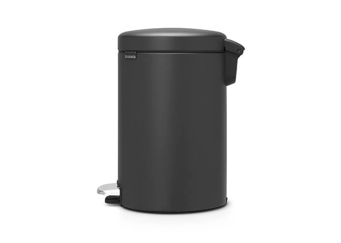 Brabantia NewIcon Sense of Luxury Pedal Bin, 12 L, Mineral Infinite Grey - 2