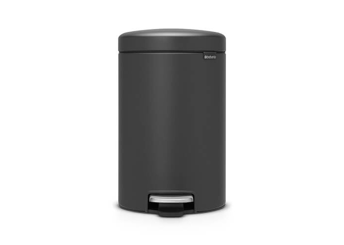 Brabantia NewIcon Sense of Luxury Pedal Bin, 12 L, Mineral Infinite Grey - 1