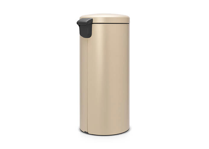 Brabantia Newicon Sense of Luxury Pedal Bin, 30 Litre - Golden Beach, Mineral Golden Beach - 2