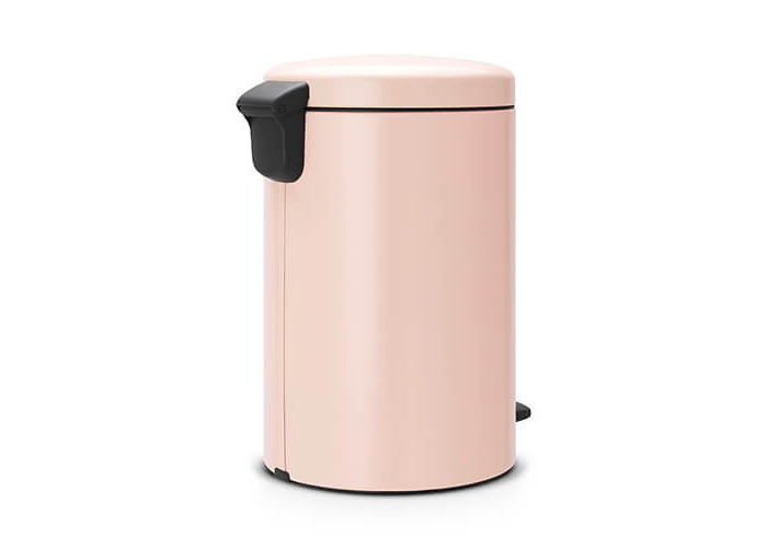 Brabantia Pedal Bin newIcon with Plastic Inner Bucket, 20 Litre - Clay Pink - 2