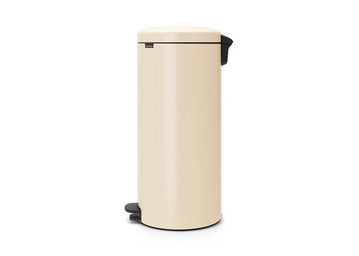 Brabantia Pedal Bin newIcon with Plastic Inner Bucket, 30 Litre - Almond - 2