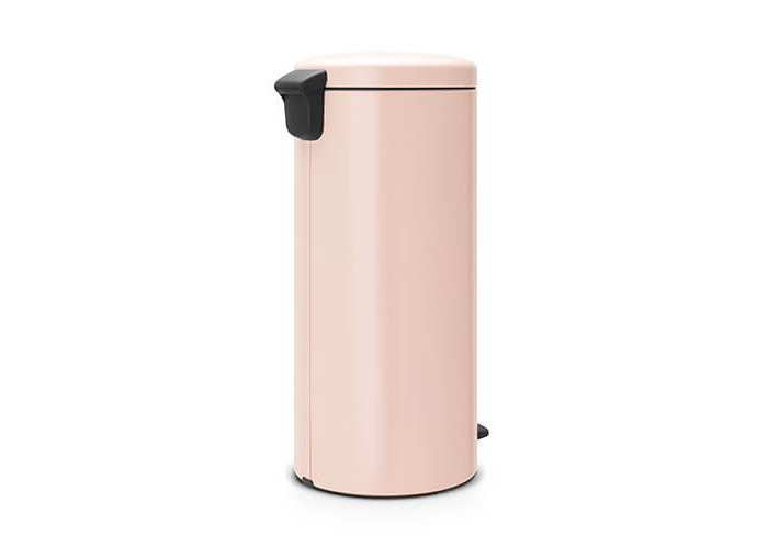 Brabantia Pedal Bin newIcon with Plastic Inner Bucket, 30 Litre - Clay Pink - 2