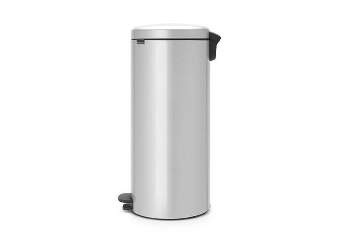Brabantia Pedal Bin newIcon with Plastic Inner Bucket, 30 Litre - Metallic Grey - 2