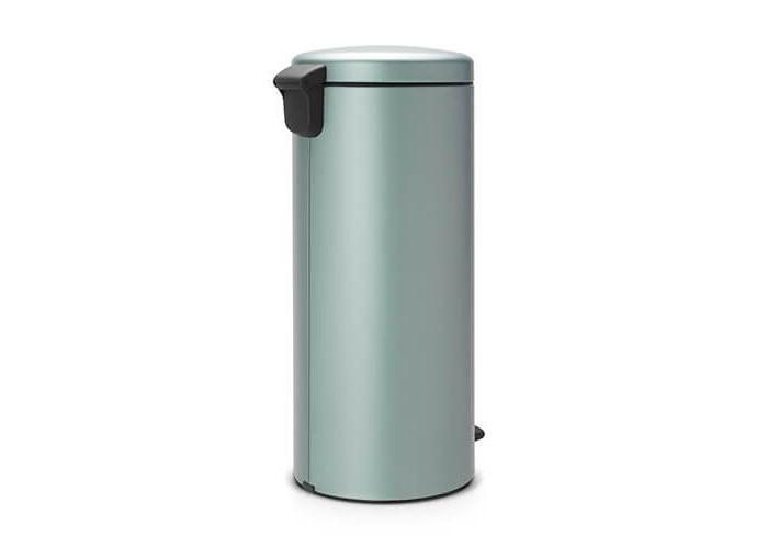 Brabantia Pedal Bin newIcon with Plastic Inner Bucket, 30 Litre - Metallic Mint - 2