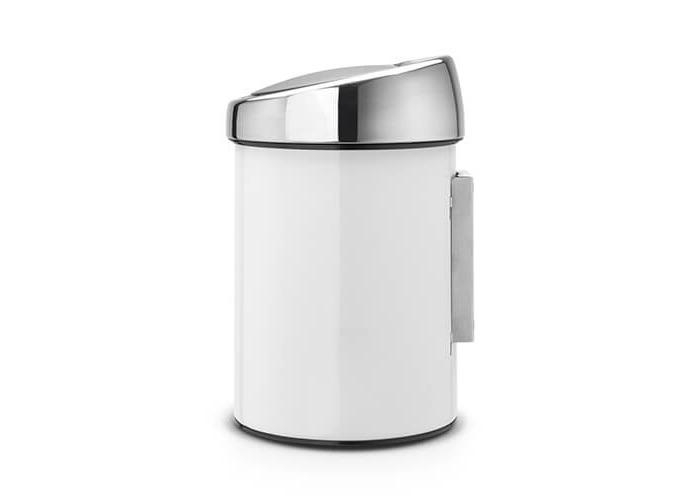 Brabantia Touch Bin, 3 L - White - 2