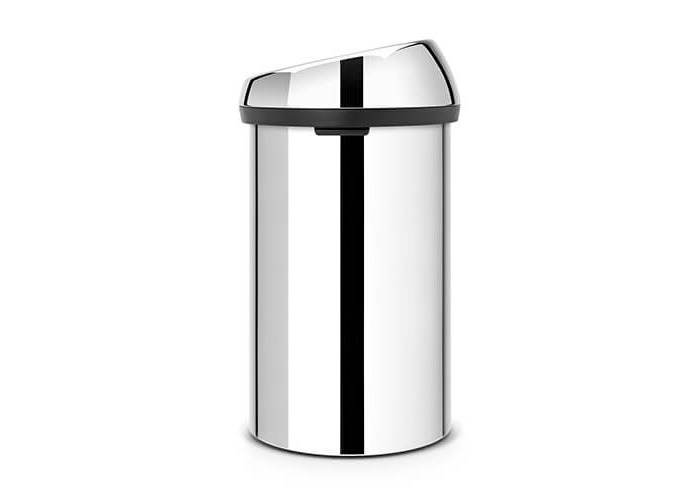 Brabantia Touch Bin, 60 L - Brilliant Steel - 2