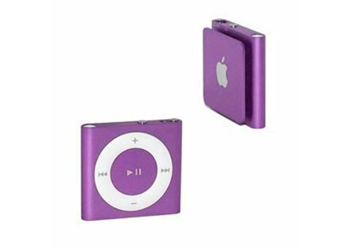 Buy Brand New Apple Ipod Shuffle 4th Generation Purple 2gb W Accessories Fat Llama