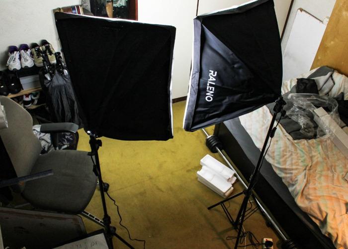 *Brand New* 2x Softbox Photo/Video Lighting Kit- Adjustable - 1