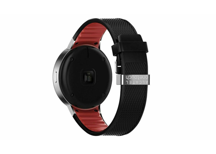 BRAND NEW ALCATEL ONETOUCH SMART WATCH SM02 - BLACK RED - 1
