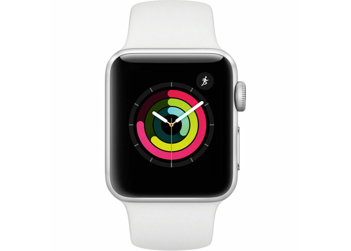 Brand New Apple iWatch Series 3 - Sports Band 38mm GPS (2017) - MTEY2B/A - 1