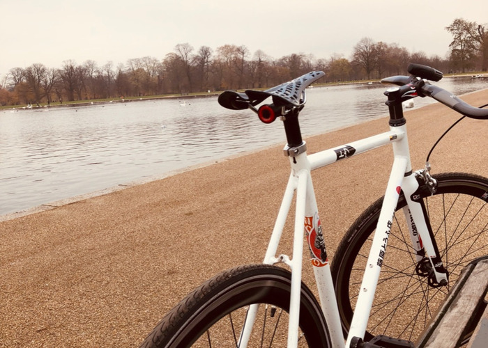 Bicycle - Carbon fibre and Aluminium - ( EXTREMLY WELL MANTAINED ) - 1