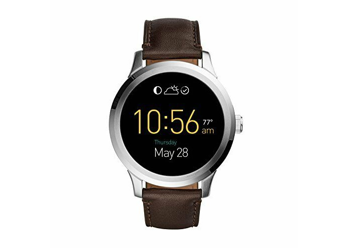 Brand New Fossil Q Unisex Connected Watch FTW20013 - Stainless Steel - Brown - 1