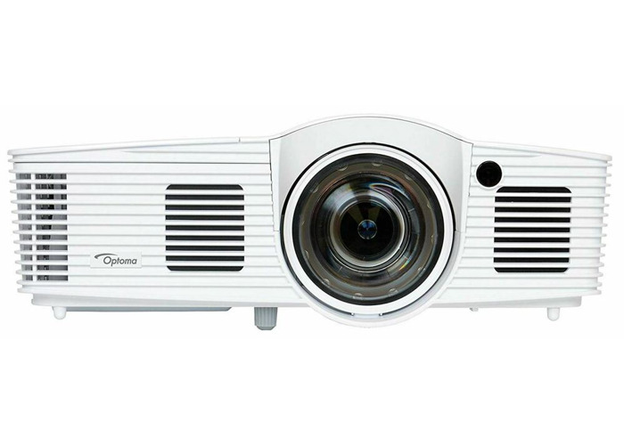 BRAND NEW OPTOMA GT1080E FULL HD DLP SHORT THROW 3000 ANSI PROJECTOR WHITE - 1