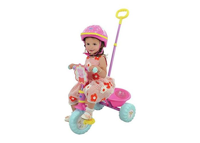 Brand New Peppa Pig Pink Trike Let The Fun Begin - 1
