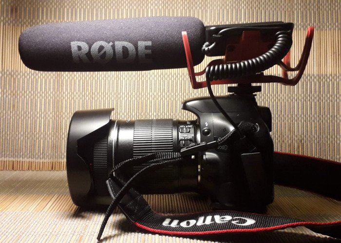 *Brand New* Rode Video Mic/ Plug in & play 3xBat+Tripod+Cable - 1