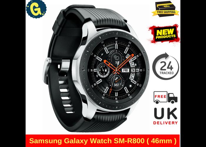 Brand New Samsung Galaxy Watch SM-R800 ( 46mm ) Bluetooth Watch - Silver RRP299 - 2