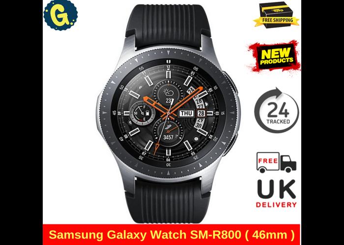 Brand New Samsung Galaxy Watch SM-R800 ( 46mm ) Bluetooth Watch - Silver RRP299 - 1