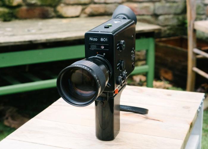 Braun Nizo 801 - Super 8mm Film Camera - 2