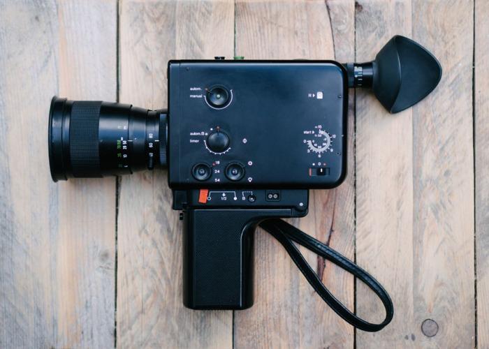 Braun Nizo 801 - Super 8mm Film Camera - 1