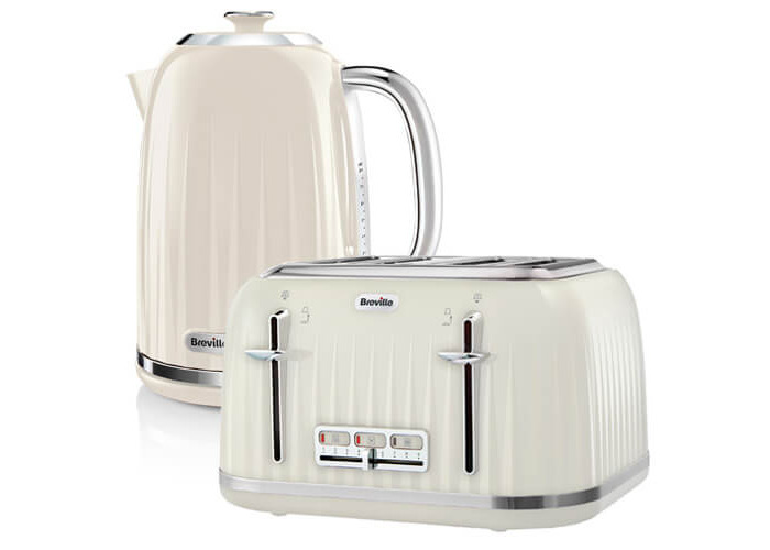 Breville Impressions Kettle & Toaster Set Cream - 1