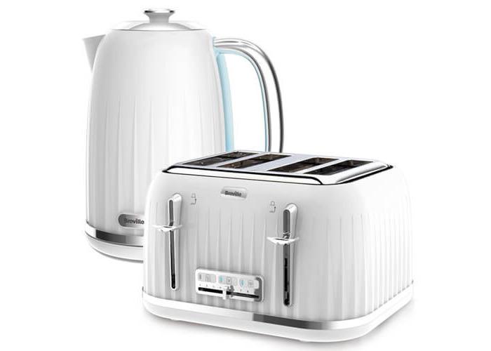 Breville Impressions Kettle & Toaster Set White - 1