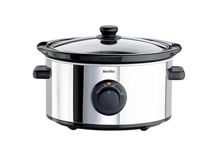 Breville ITP136 3.5L Slow Cooker - Stainless Steel. - 2