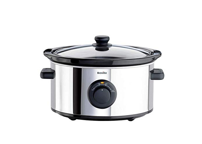 Breville ITP136 3.5L Slow Cooker - Stainless Steel. - 1