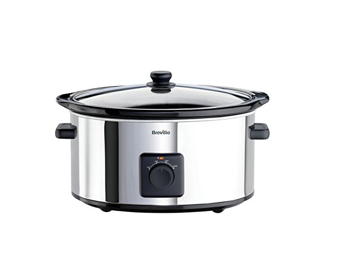 Breville ITP138 5.5L Slow Cooker - Stainless Steel. - 1