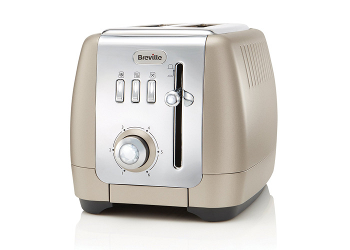 Breville Strata 2-Slice Toasters - Platinum - 1