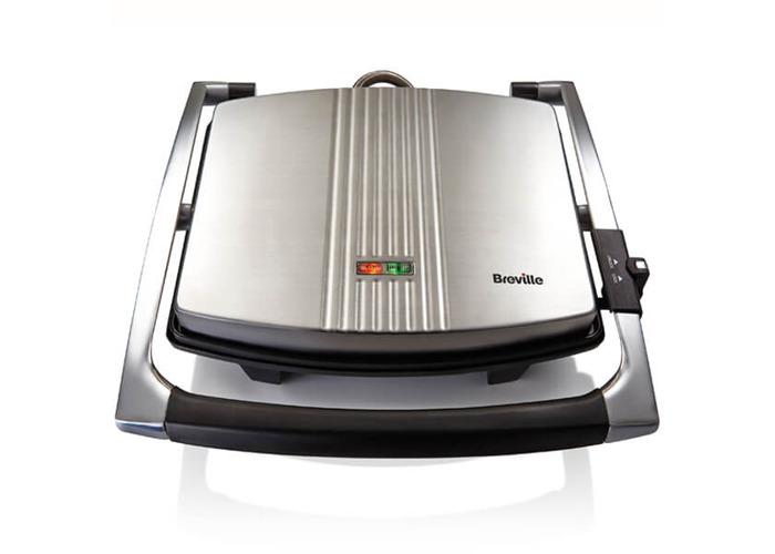 Breville VST026 Four Slice Sandwich Press Stainless Steel - Silver - 1