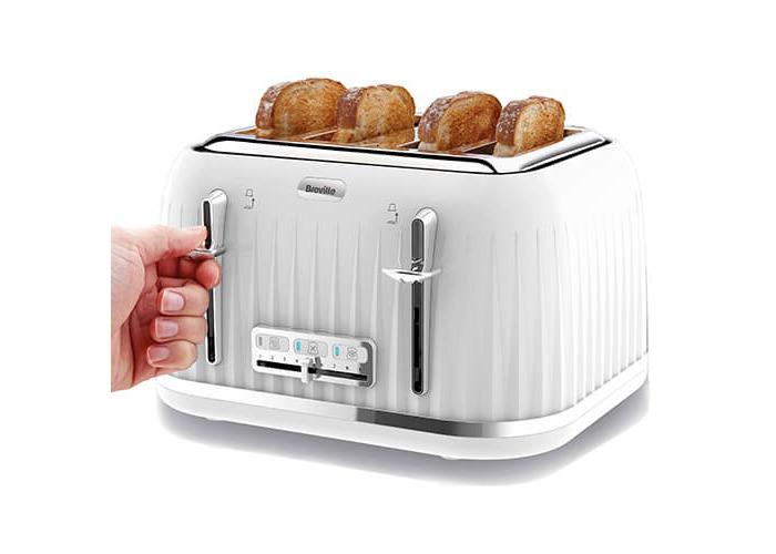 Breville VTT470 Impressions 4 Slice Toaster - White - 2
