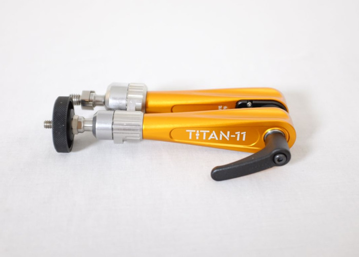 Bright Tangerine Titan Arm, 8kg Payload, Magic Arm, Friction Arm, Articulating Arm - 1