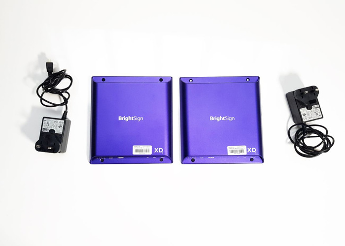 Brightsign dual screen synchronised 4k or HD video players - 1