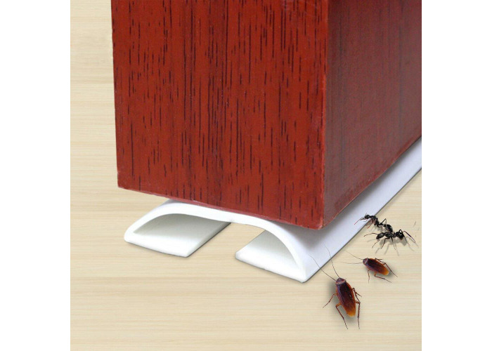 Bro Flexible PVC Under Door Threshold Bar Seal Strip Bottom Draft Stopper - 2