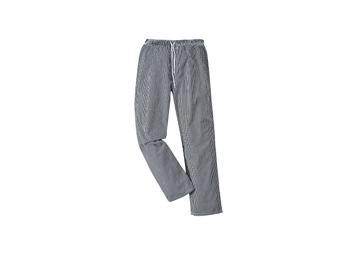Bromley Chef Trousers  BkChk  3 XL  R - 1