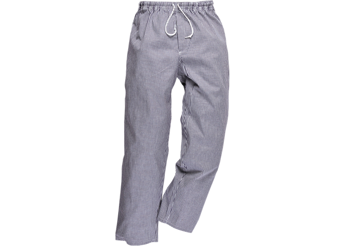 Bromley Chef Trousers  CheckT  XL  T - 1