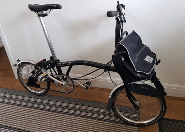 Brompton folding bike - 1